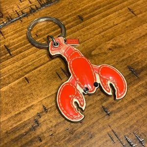 Coach Lobster keychain 🦞